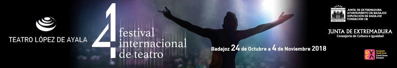 Banner 41 Festival Internacional de Teatro